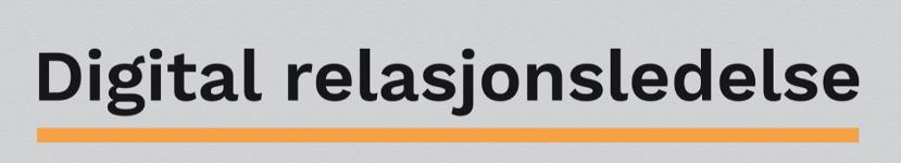 Digital Relasjonsledelse logo