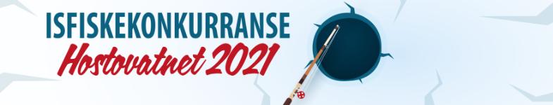 Isfiskekonkurranse - Hoston 2021 logo