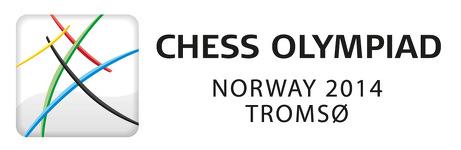 Chess Olympiad Tromsø 2014 logo