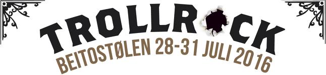 Trollrock 2016 logo
