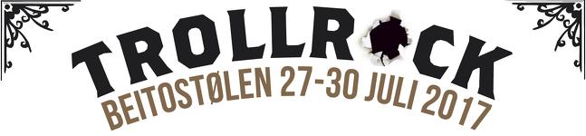 Trollrock 2017 logo