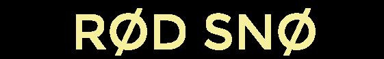 Rød Snø 2018 logo