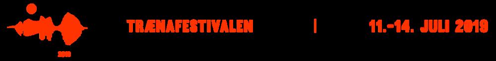 Trænafestivalen 2019 logo