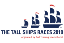 Tall Ship Races Bergen  2019 logo